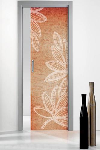 Porte in vetro scorrevoli cristal for Porte decorative